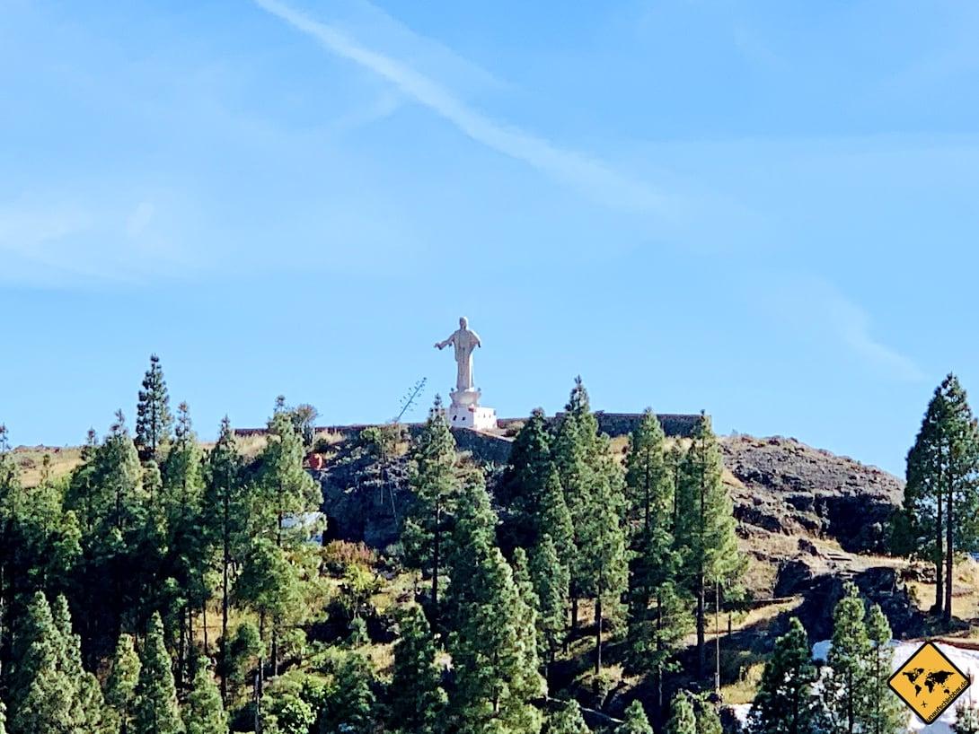 Artenara Jesus Figur Gran Canaria