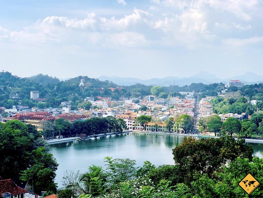 Arthur's Seat Aussichtspunkt Kandy