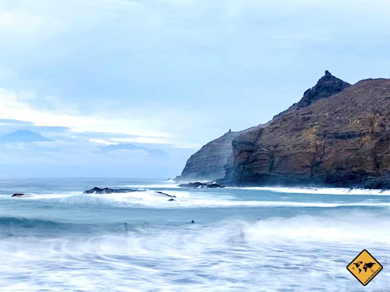 Atlantik Playa de Caleta La Gomera