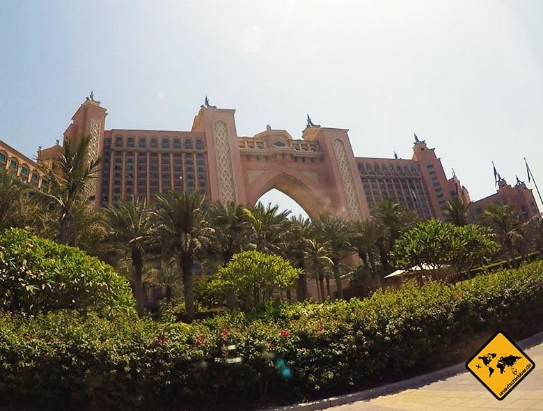 Das Aquaventure Dubai befindet sich im Atlantis The Palm Hotel