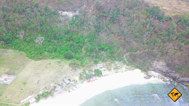 Atuh Beach Bali Abstieg Pfad