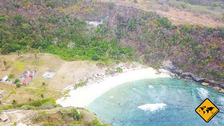 Atuh Beach Nusa Penida naturbelassen