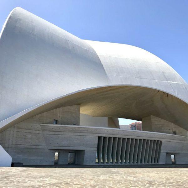 Auditorium Santa Cruz de Tenerife Rückseite