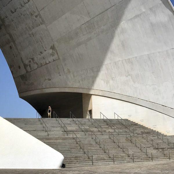 Auditorium Santa Cruz de Tenerife Treppen