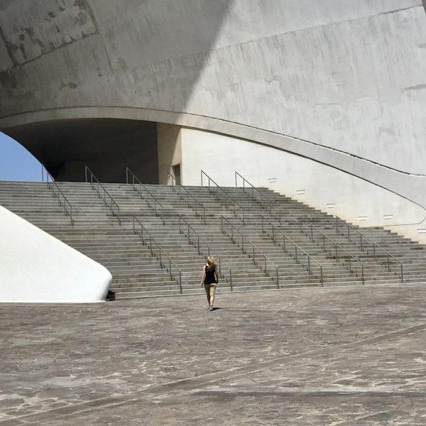 Auditorium Teneriffa Treppe