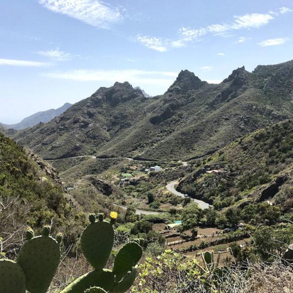 Ausblick Anaga Gebirge Teneriffa Ostseite