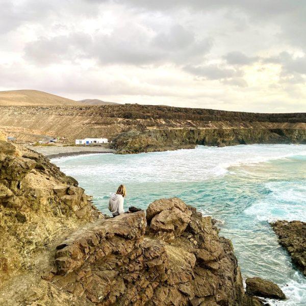 Ausblick Bucht von Los Molinos Fuerteventura Geheimtipps
