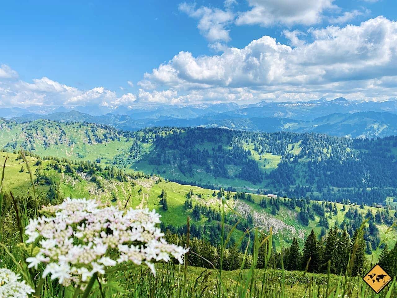 Ausblick Hochgrat Panoramaweg
