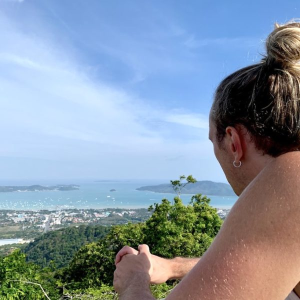 Ausblick Meer Big Buddha Phuket