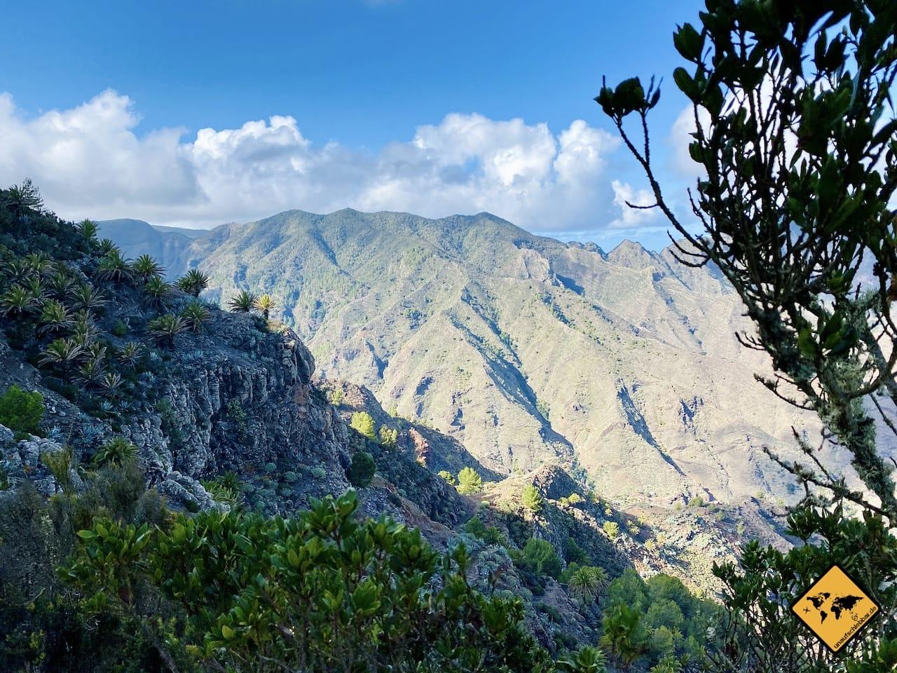 Ausblick Mirador Degollada De Peraza La Gomera