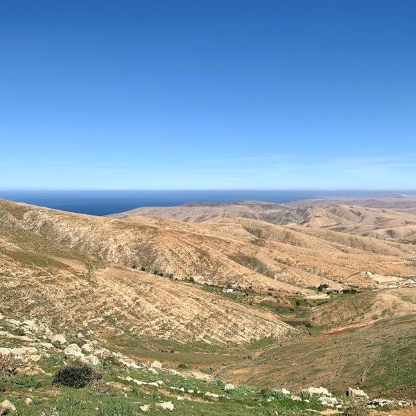 Ausblick Mirador de Guise y Ayose Parque Rural de Betancuria