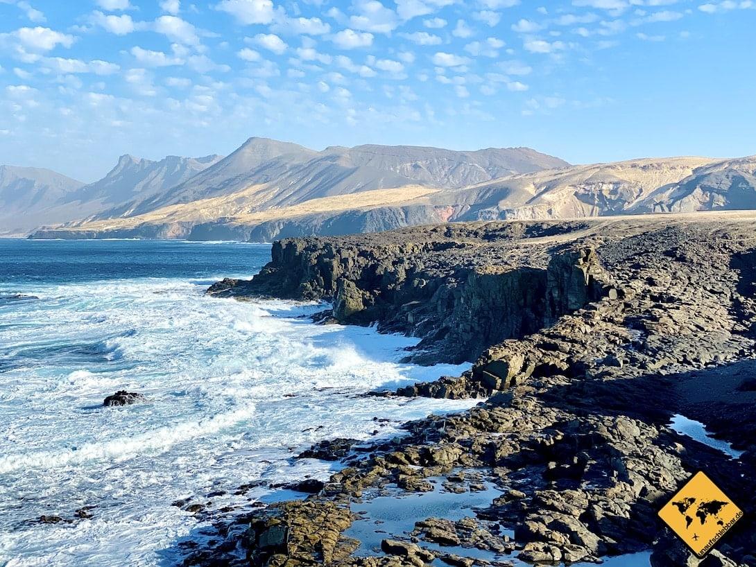 Ausblick Nordwest-Zipfel Fuerteventura