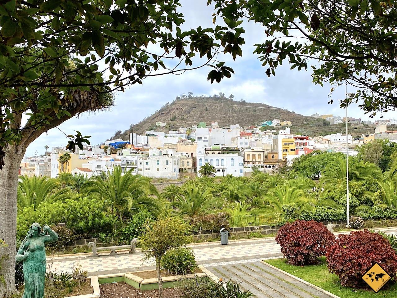 Ausblick Parque Municipal Montaña de Arucas
