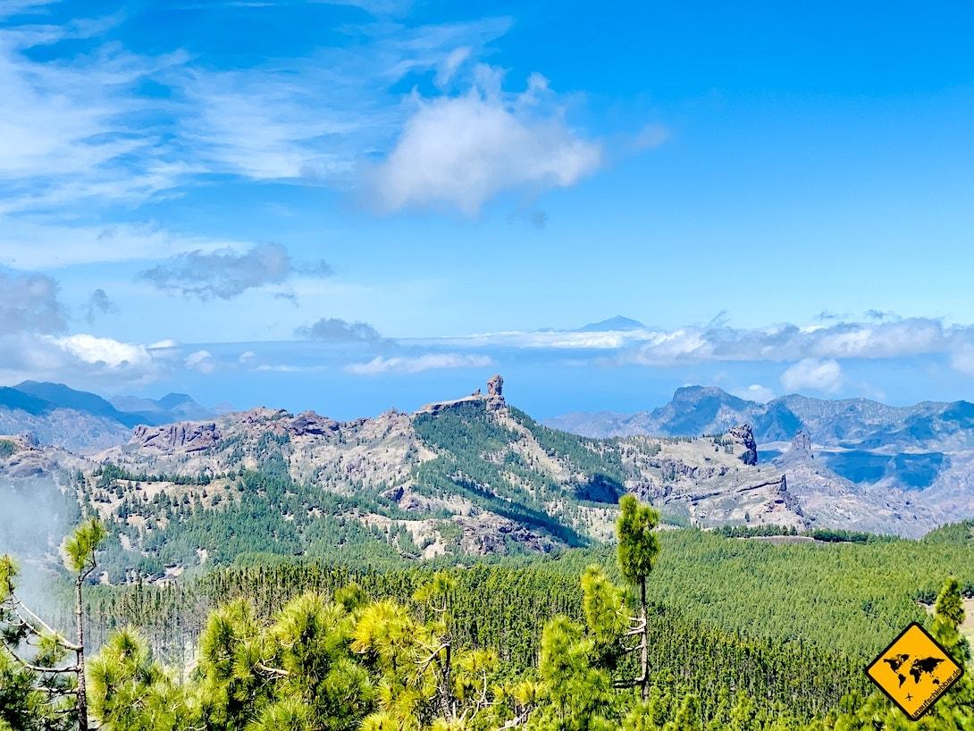 Ausblick Pico de las Nieves Gran Canaria Sehenswürdigkeiten