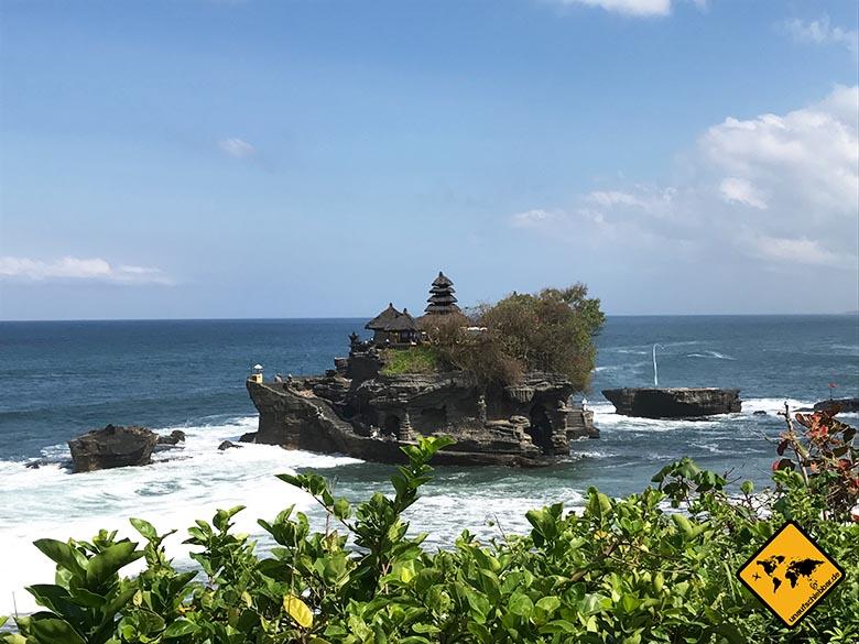 Ausblick Restaurant Tanah Lot Bali