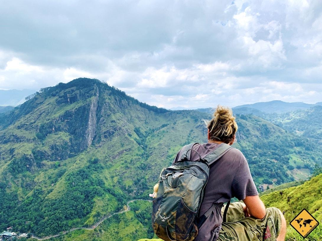 Ausblick Small Adam's Peak Sri Lanka