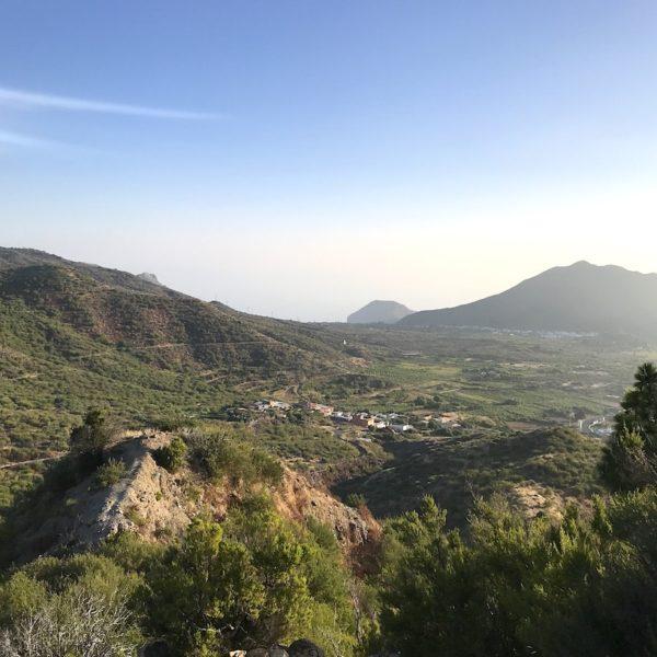 Ausblick Wanderweg El Tanque Teneriffa