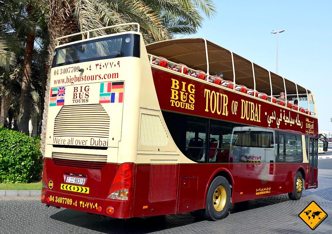 Ausflüge Dubai Hop On Hop Off Bus