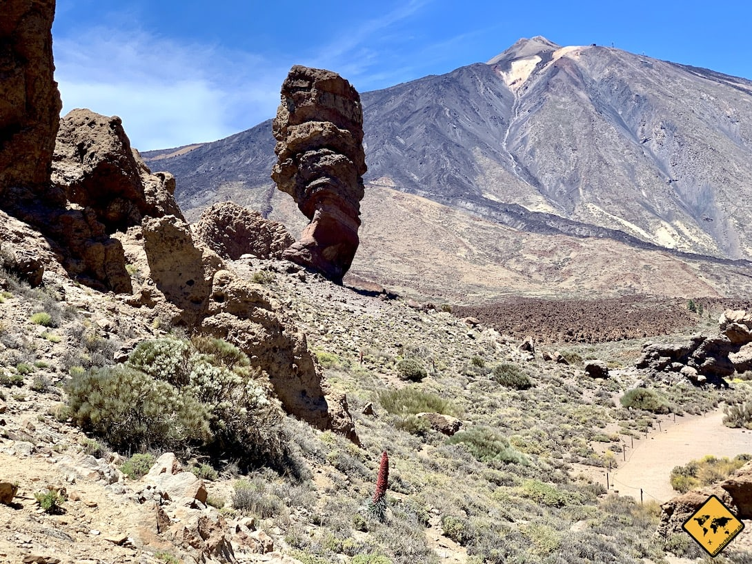 Ausflüge von Gran Canaria nach Teneriffa Teide Vulkan