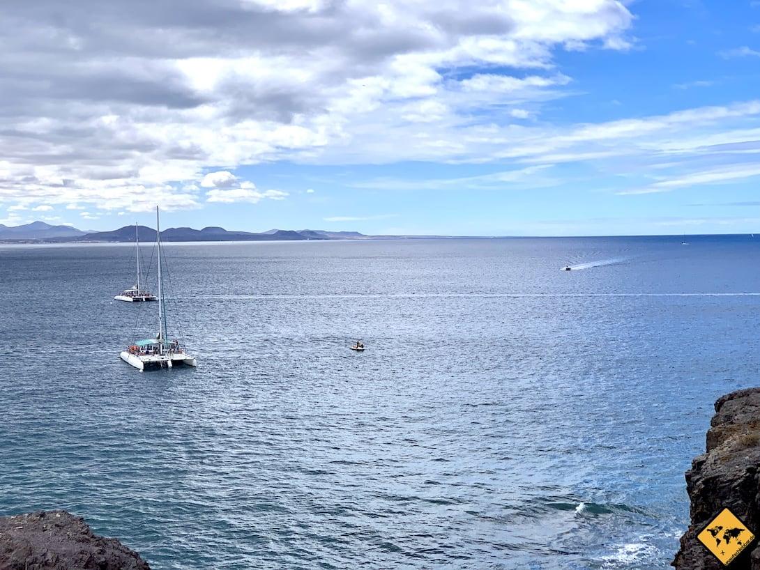 Ausflugsschiffe Lanzarote Costa de Papagayo