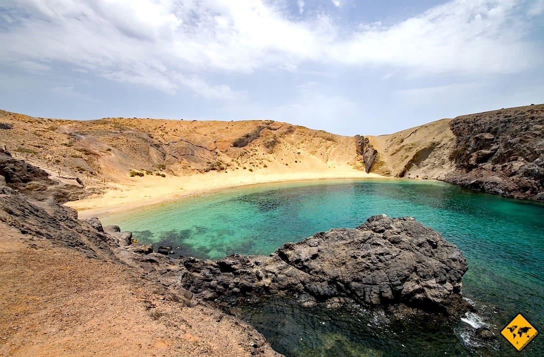 Ausflugstipps Lanzarote Playas de Papagayo