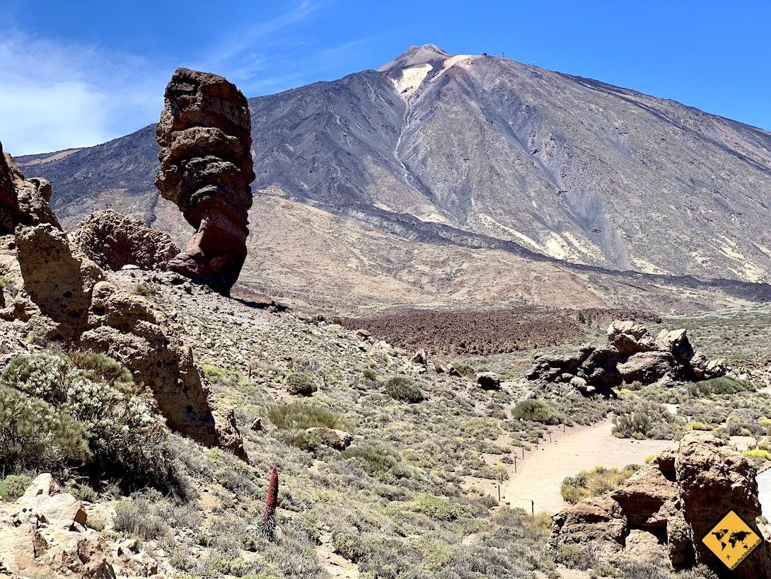 Ausflugsziel El Teide Teneriffa