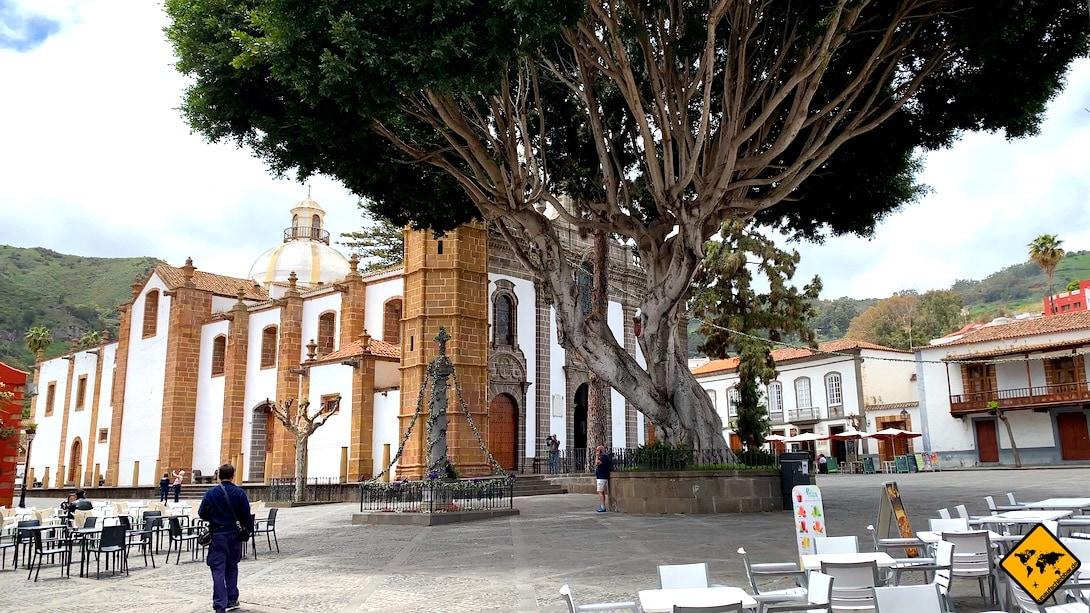 Ausflugsziel Teror Gran Canaria Kirche Vorplatz