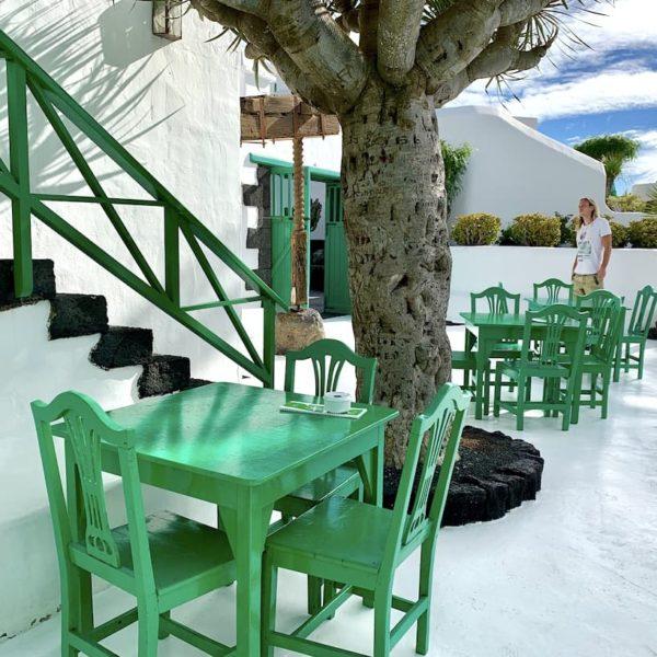 Außenbereich Restaurant Monumento al Campesino Lanzarote