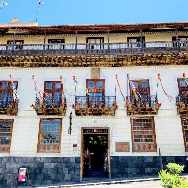 Außenfassade Casa de los Balcones