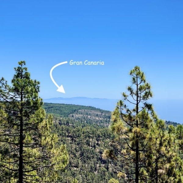 Aussicht Gran Canaria Mirador de Vilaflor