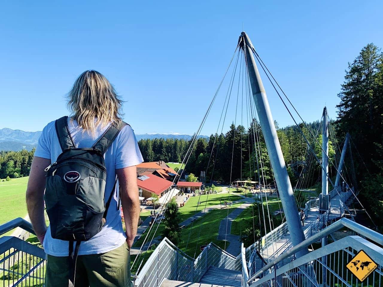 Aussicht Naturerlebnispark