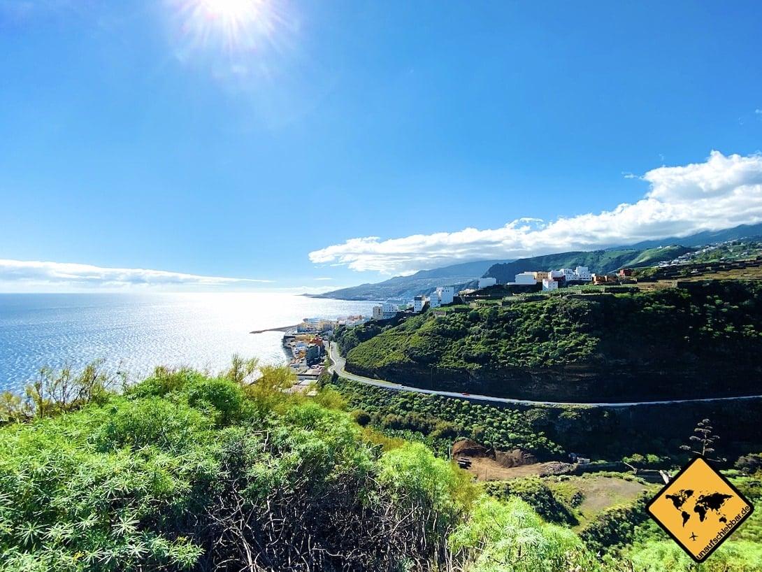 Aussichtspunkt Ausblick Santa Cruz de La Palma