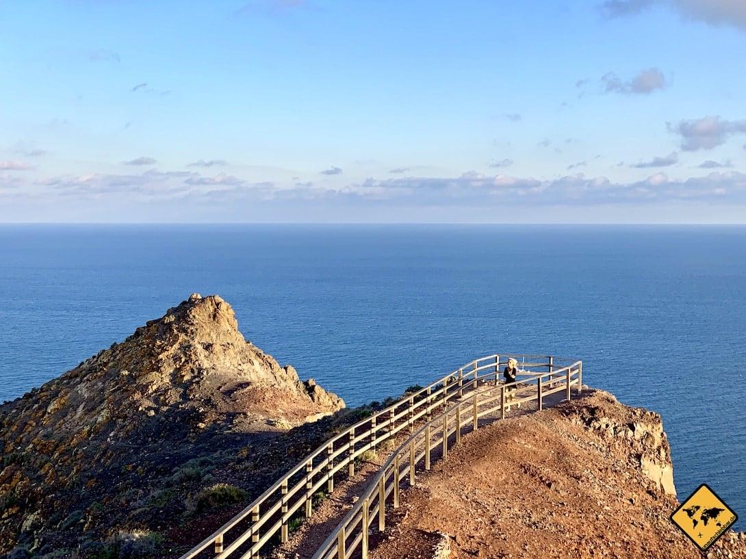 Aussichtspunkt Faro de la Entallada Las Playitas Fuerteventura