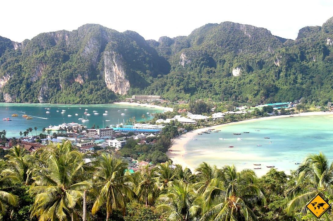 Aussichtspunkt Koh Phi Phi Don