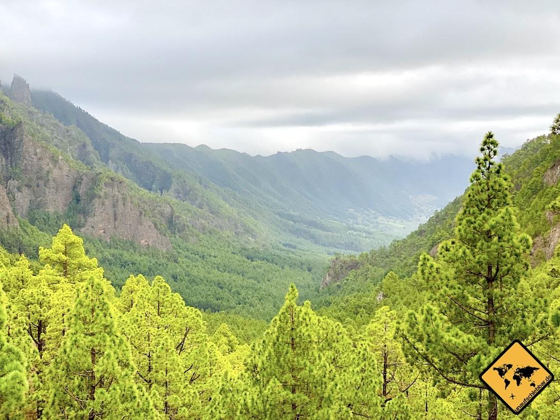 Aussichtspunkt Mirador de la Cumbrecita La Palma