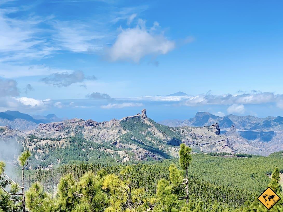 Aussichtspunkt Pico de las Nieves Gran Canaria