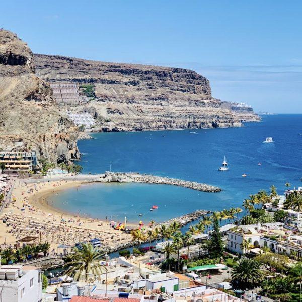 Aussichtspunkt Puerto de Mogán Gran Canaria