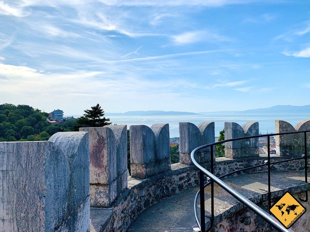 Aussichtsturm Trsat Castle