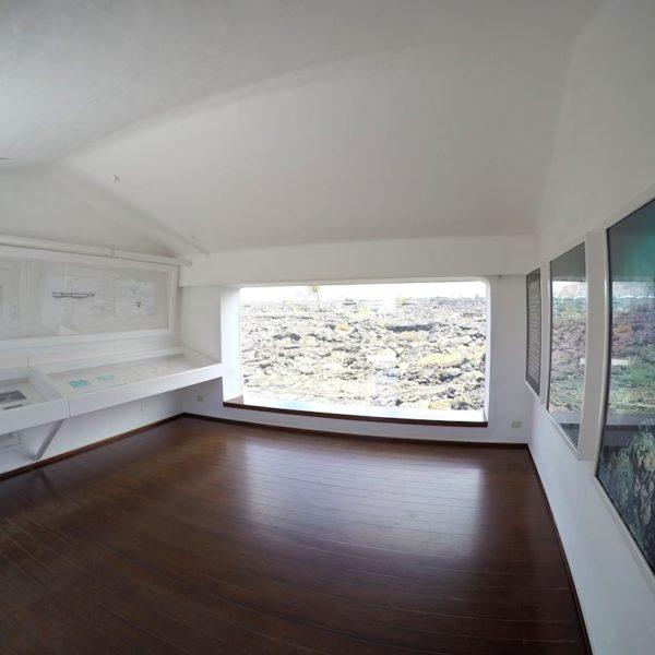 Ausstellung Panorama Fenster Fundación César Manrique Lanzarote