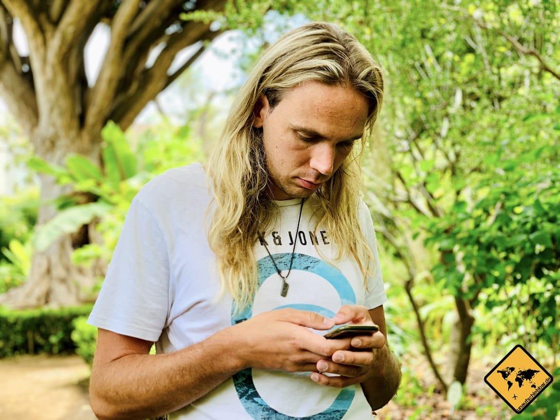 Auswandern Teneriffa Sprache lernen per Smartphone
