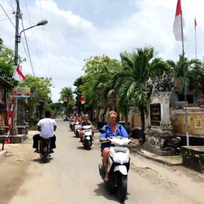 Auf Nusa Lembongan siehst du so gut wie keine Autos, dafür aber jede Menge Roller