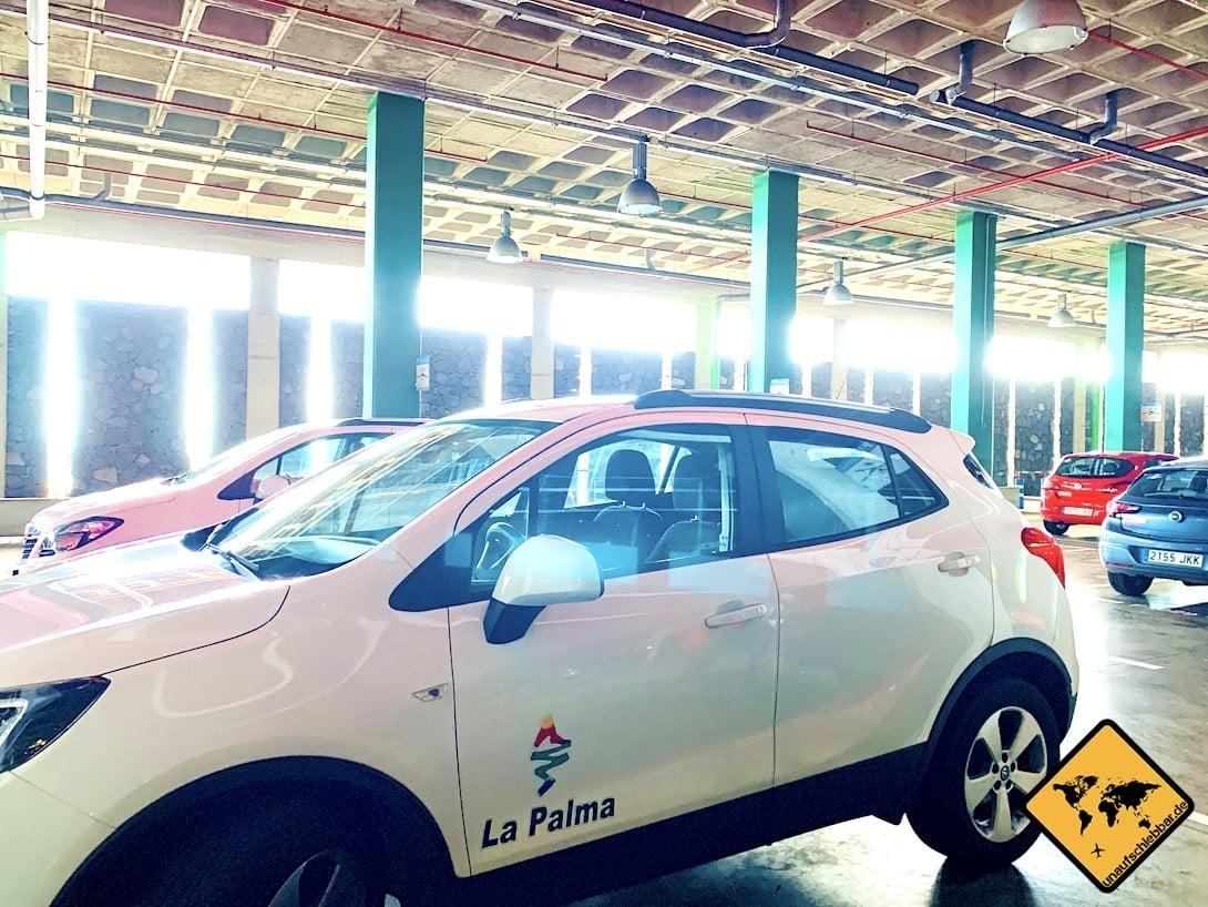 Autovermietung Cicar La Palma Flughafen