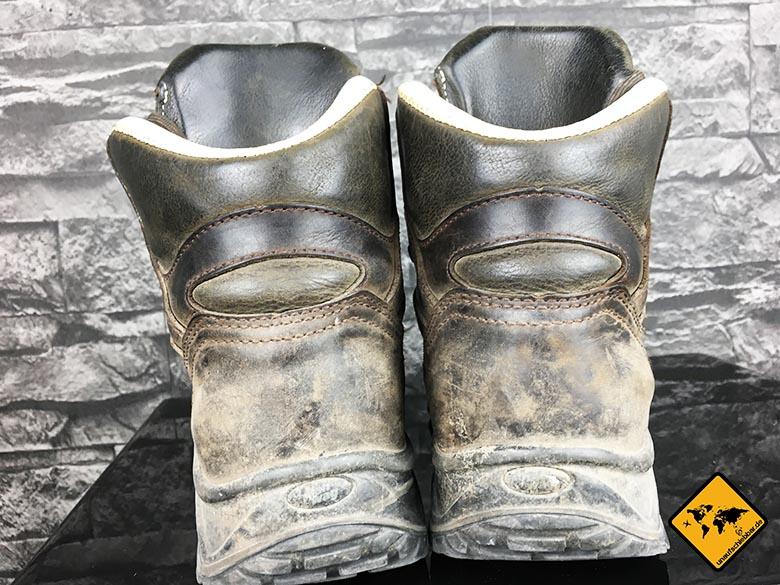 Backpacking Schuhe Frauen Hanwag Damen Alta Bunion Gtx Trekking-und Wanderstiefel von hinten
