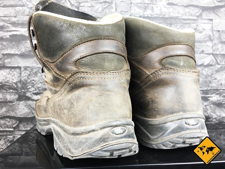 Backpacking Schuhe Männer Hanwag Herren Alta Bunion Gtx Trekking-und Wanderstiefel von hinten