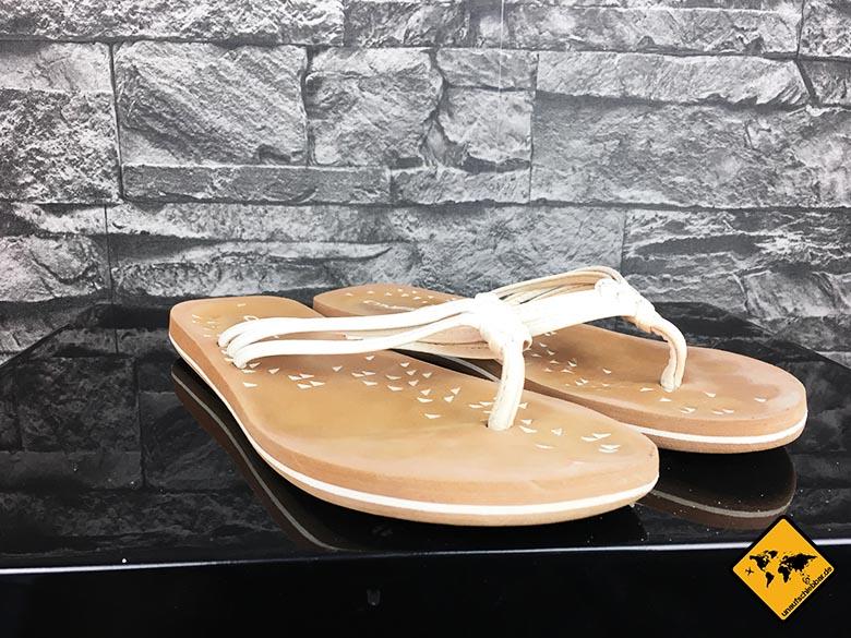 Backpacking Schuhe O'Neill Damen Fw 3 Strap Ditsy Flip Flop Zehentrenner Gesamtansicht