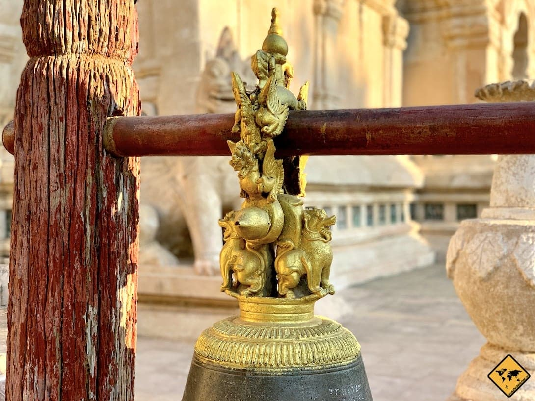 Bagan Ananda Tempel Glocke