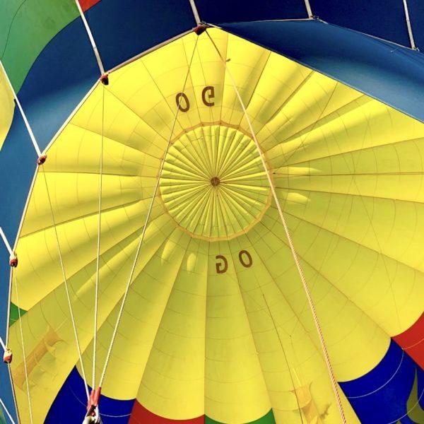 Bagan Ballon Schirm innen