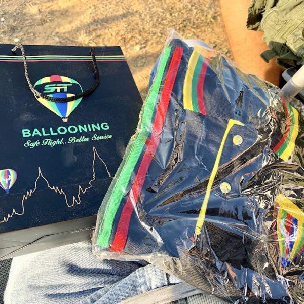 Bagan Ballonfahrt T-Shirt STT Ballooning
