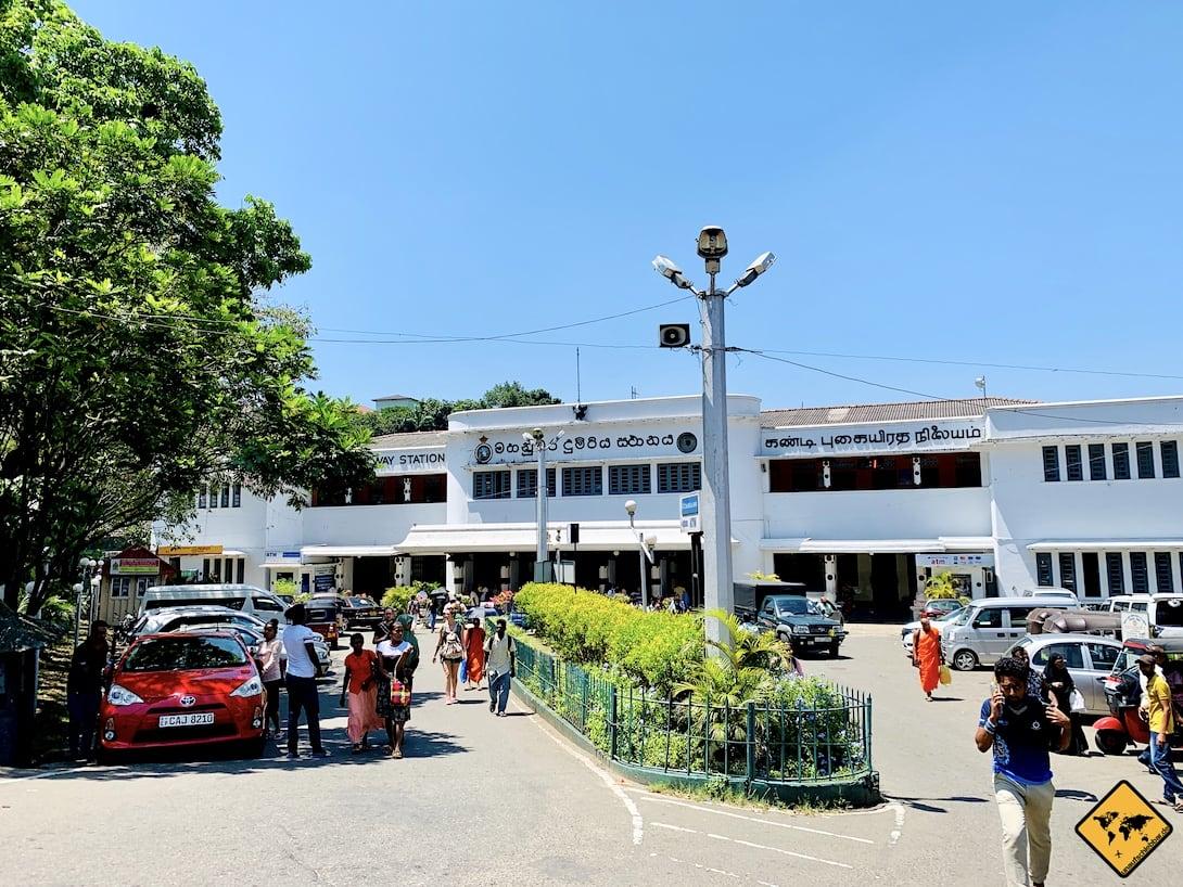 Bahnhof Kandy Gebäude