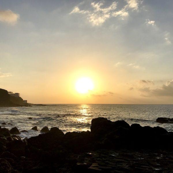 Bajamar AirBnB Sonnenuntergang